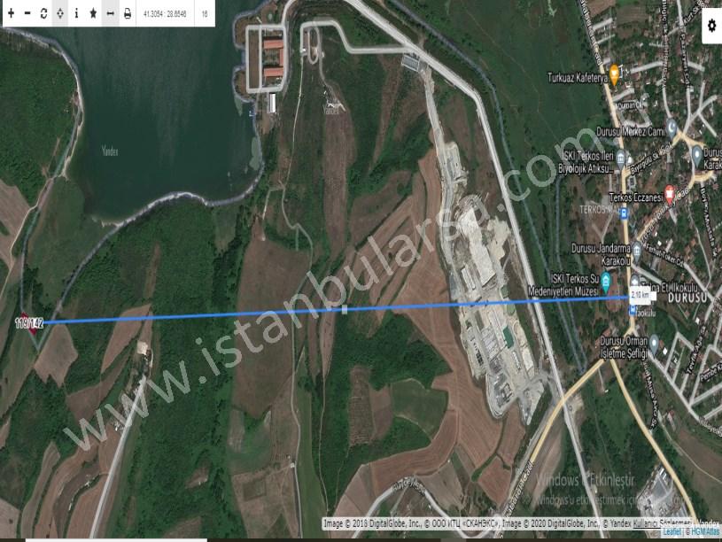 Arnavutköy Boyalık ,ta Satılık Arsa , 244 M2 Hisseli Yolu Var.