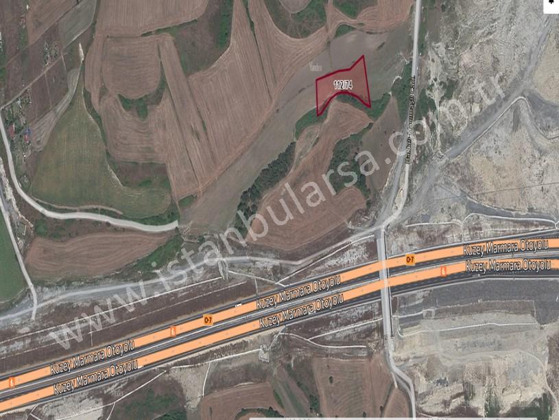 Arnavutköy Baklalı,da Satılık Arsa , 972 M2 Hisseli Caddeye Yakın