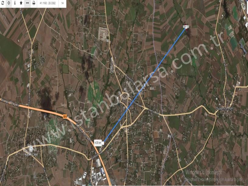 Çatalca Ovayenice,de Satılık Arsa , 350 M2 Evlerin Yakını