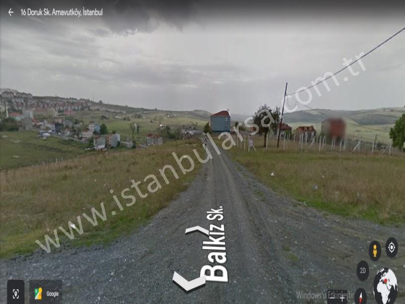Arnavutköy Taşoluk,ta Satılık Arsa , 196 m2 Hisseli Caddeye Yakın