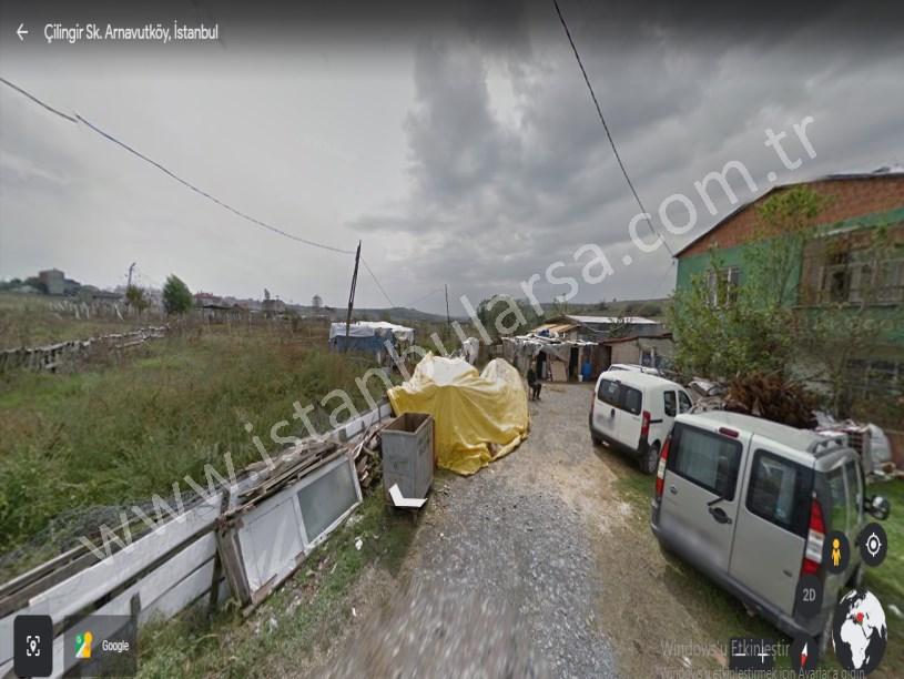 Arnavutköy Taşoluk,ta Satılık Arsa ,  180 M2 Hisseli Evlerin Yakını