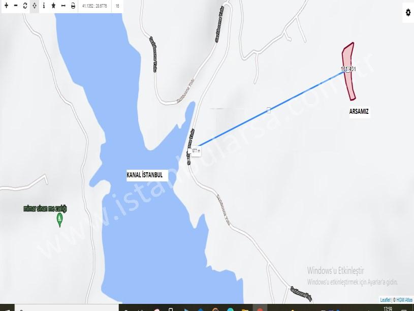 Arnavutköy Hacımaşlı,da Satılık  Arsa , 1,650 M2 Hisseli