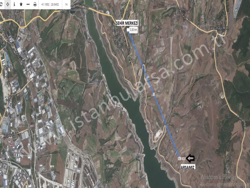 Arnavutköy Hacımaşlı ,da Satılık Arsa , 374 M2 Hisseli