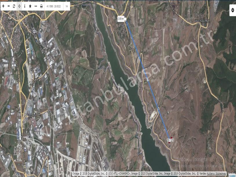 Arnavutköy Hacımaşlı,da Satılık Arsa , 178 M2 Hisseli Yolu Var