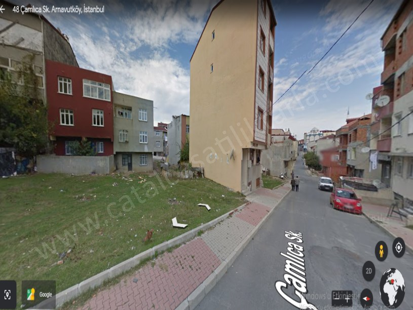 Arnavutköy Boğazköyde  Satılık Arsa , 124 M2 Müstakil Konut İmarlı