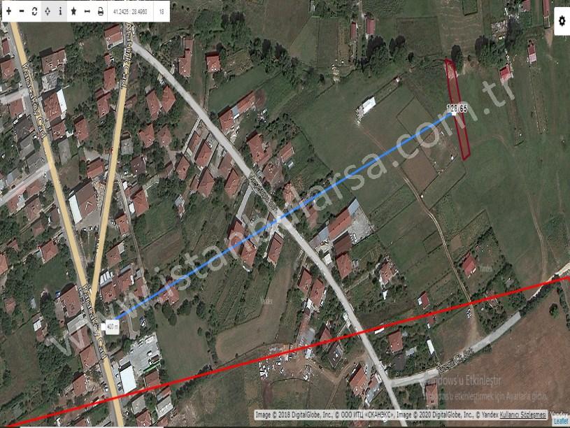 Çatalca Çanakça,da Satılık Arsa , 1,073 M2 Müstakil Merkezde
